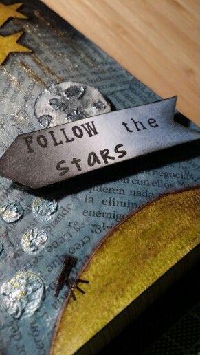 Tag Follow the stars. Ann Friks Original.