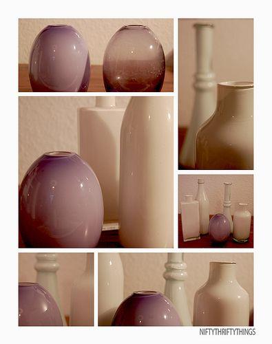 {white vases}: White Vase, Vase Paintings, Oil Paintings, Painted Vases, Diy Paintings Vase, Accent Colors, Paintings Jars, Paintings Glasses Vase, Old Vase