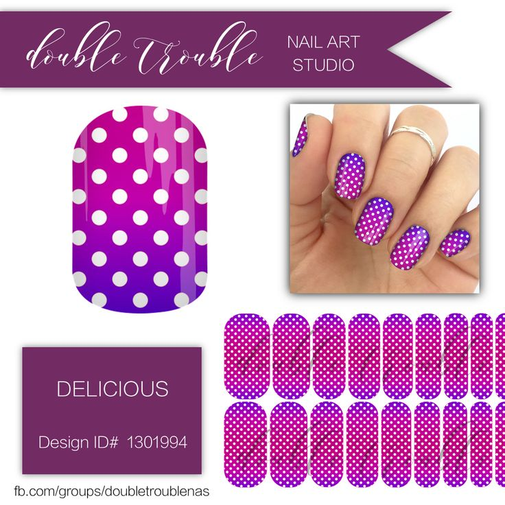 37 best Double Trouble Nail Art Studio Designs images on Pinterest ...