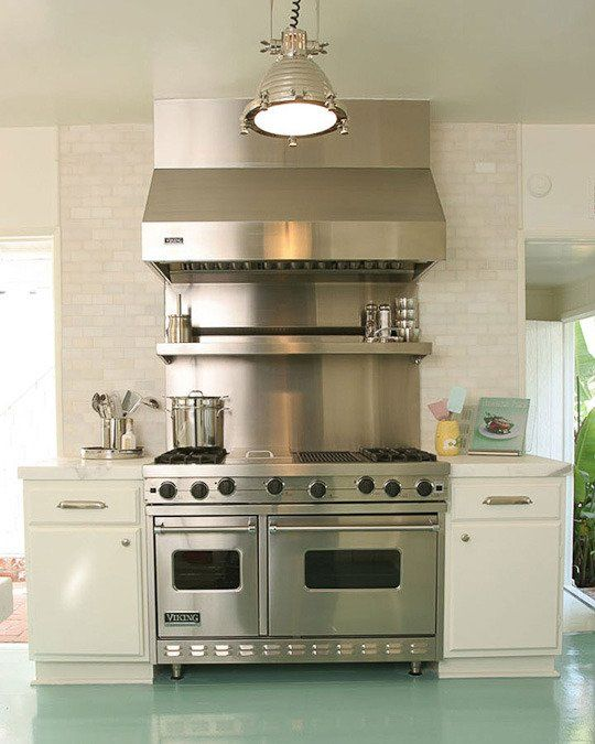 How To Paint A Concrete Floor Stove Ranges And Hoods