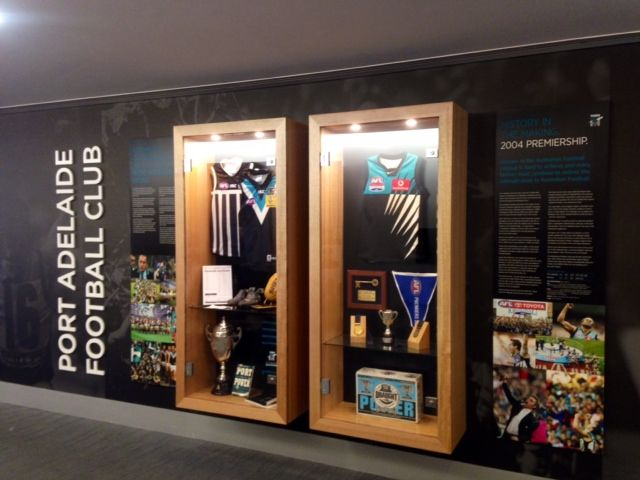 Winkle Group www.winklegroup.com.au AFL Display Cases - Adelaide Oval