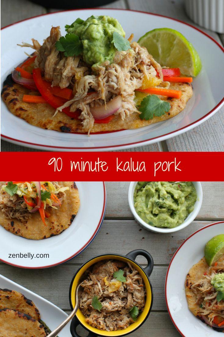 90 minute Kalua Pork - zenbelly