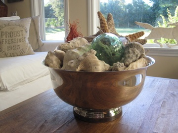 ANTIQUECHASE: Decorating with Vintage Silver Punch Bowls ~