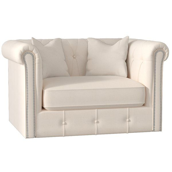 You Ll Love The Harrison Mid Century Chair And A Half At Wayfair Great Deals On All Furniture Product Chesterfield Chair Throw Pillow Fabric Chair And A Half