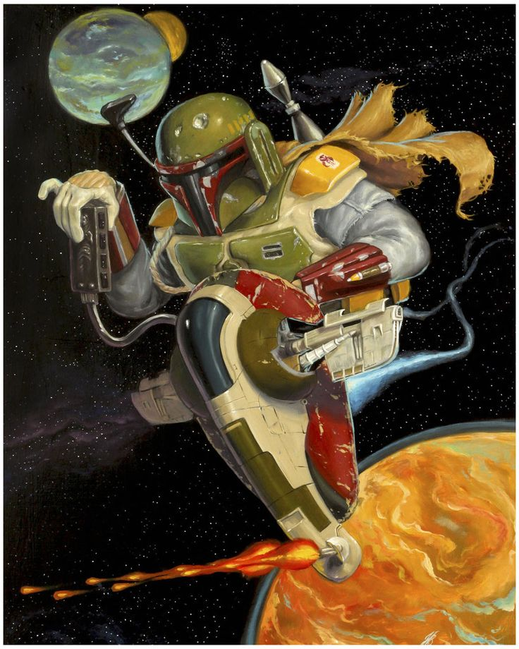Star Wars Illustrations - Created by Jonathan Bergeron