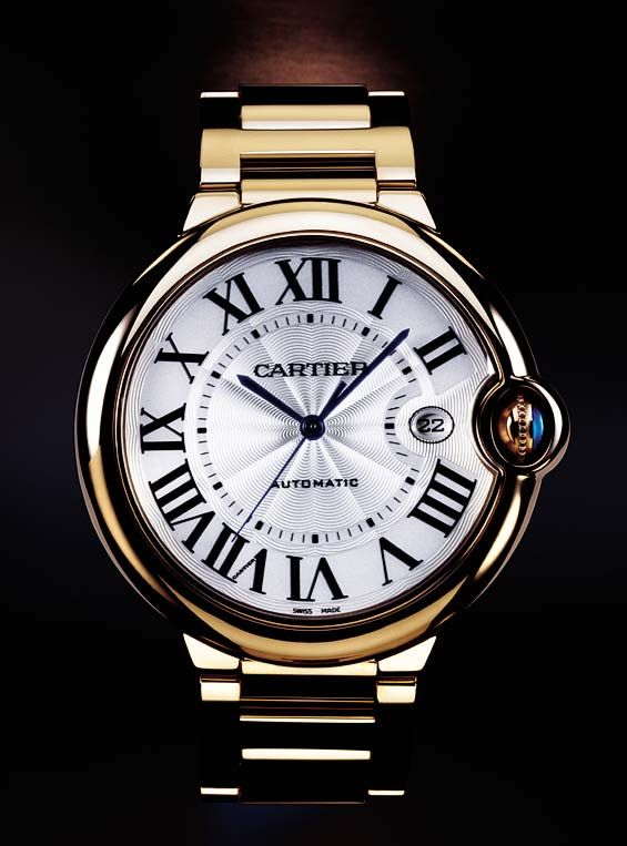 Cartier Balloon Bleu Gold.                                                                                                                                                                                 More