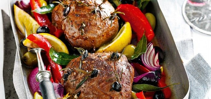 Greek-Style Roasted Lamb | In Season: Summer | MiNDFOOD