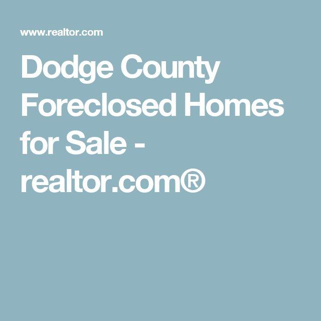 Dodge County Foreclosed Homes for Sale - realtor.com®