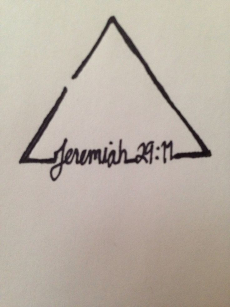 (White ink) Jeremiah 29:11 + broken delta tattoo = because of God's promise of a hope and a future, I am open to change.