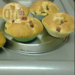Lucy Lue's cherry muffins @ allrecipes.co.uk