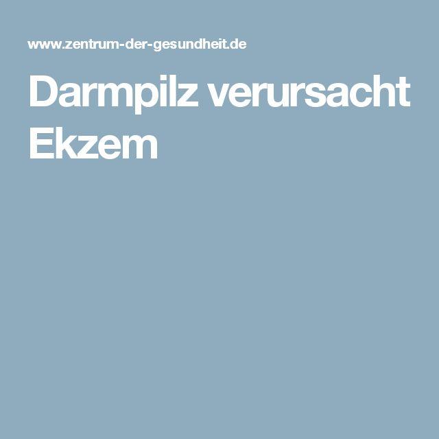 Darmpilz verursacht Ekzem