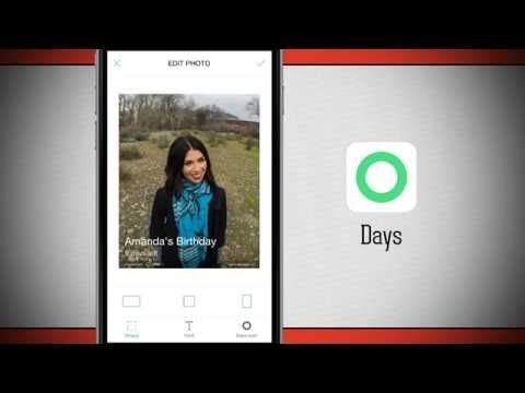 Days: Event Countdown iPhone App Demo - DailyAppShow - YouTube