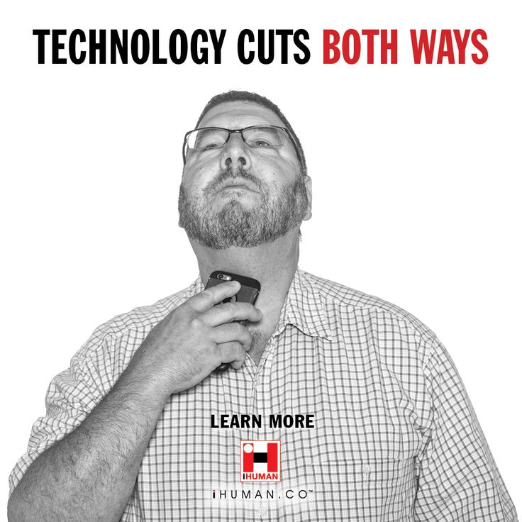 """TECHNOLOGY CUTS BOTH WAYS"" Like? Please follow. Coming soon. #mindfulness #internet #netiquette #iam #beinghuman"