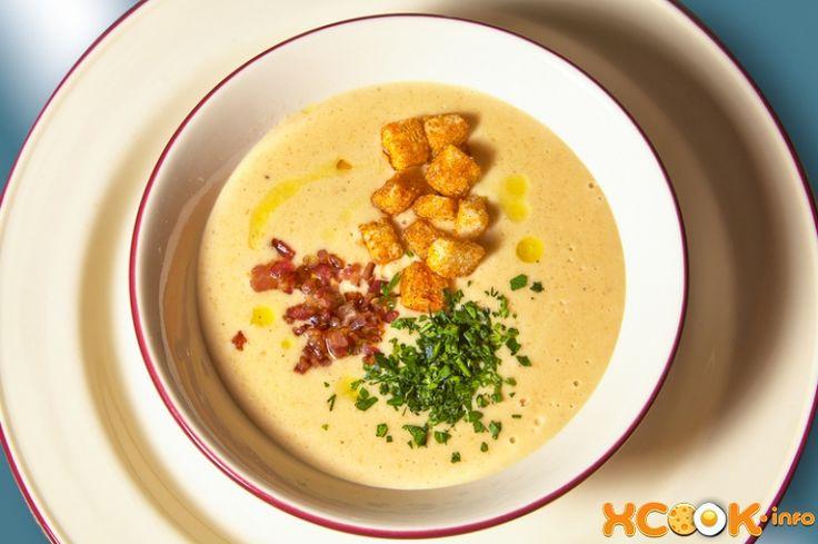 рецепт крем-супа из гороха со сливками