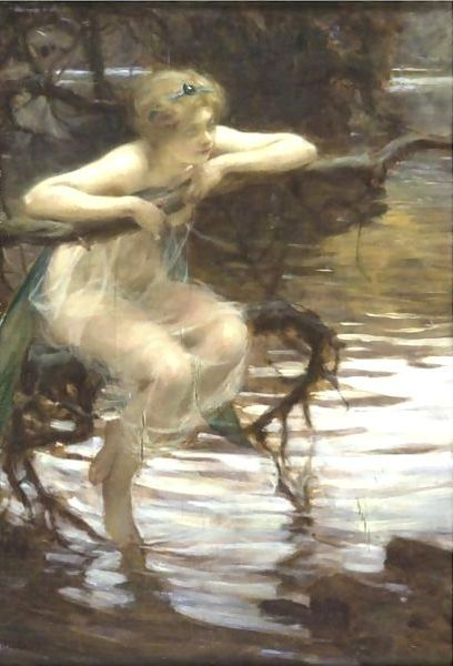 Paul Chabas 1869-1937 | French Academic painter | September Morn..