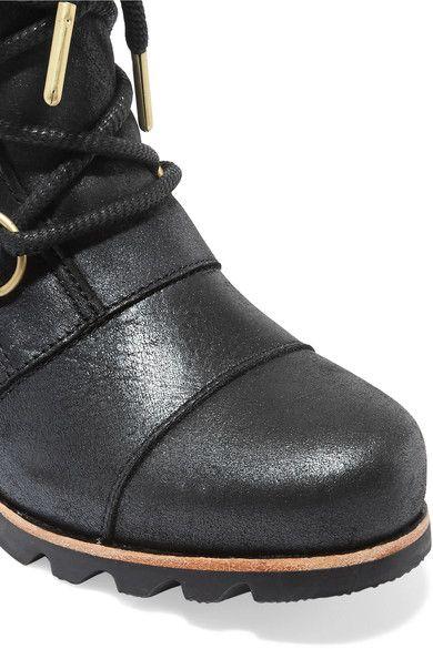 Sorel - Addington Waterproof Nubuck Boots - Black - US8.5
