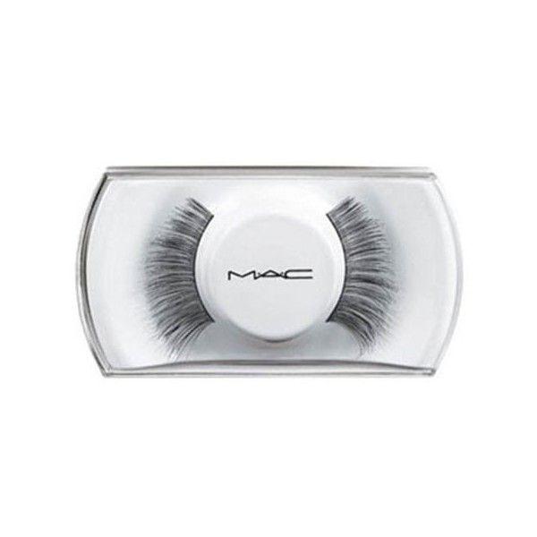 MAC 34 Lash ($16) ❤ liked on Polyvore featuring beauty products, makeup, eye makeup, false eyelashes, beauty, fillers, eyelashes, mac, mac cosmetics and long fake eyelashes