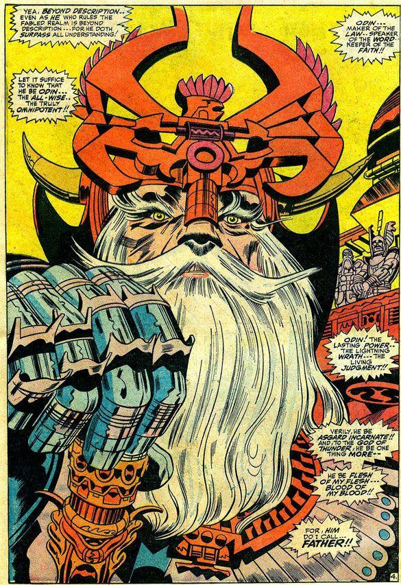 Jack Kirby - Odin