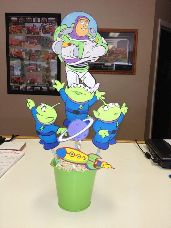 Delux Toy Story Buzz Lightyear Birthday Centerpiece