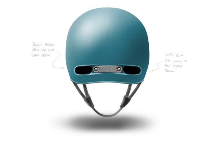 Amigos de la bicicleta-Behance - Casco anti robo