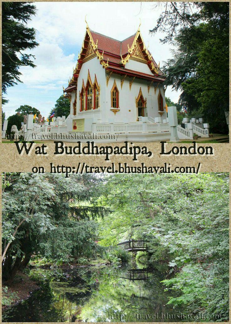 Would you believe if I say that this is London & not Thailand... #travelblog #photoblog #travelblogger #ttop #VisitLondon #VisitEngland #LoveGreatBritain #AmazingThailand #Thailand #Buddhism #Temple #Wimbledon