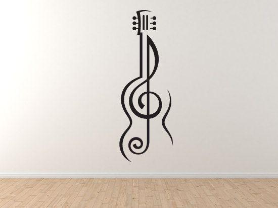 Música Nota 2-Guitarra Treble Clef símbolo
