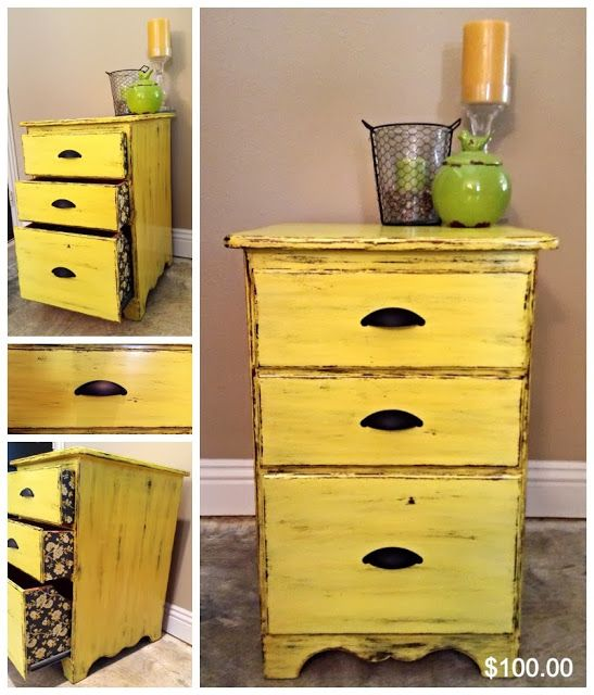 1000 Images About Yellow Shabby Chic On Pinterest Milk Paint Shabby And Pine Furniture