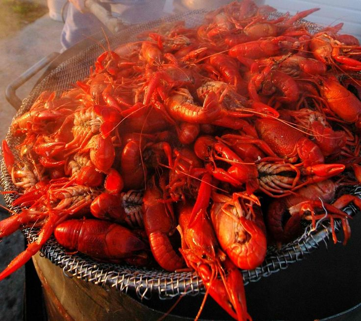 Los cangrejos de río porque era una de las comidas favoritas.