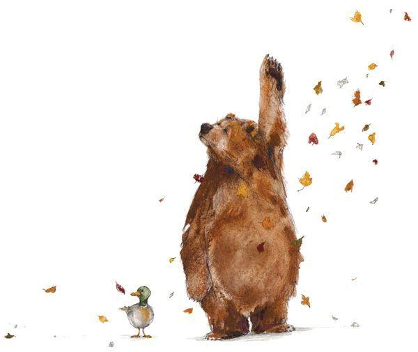 Bär hat eine Geschichte zu erzählen – Erin Stead Illustration – #Bar #eine #Er… – Melanie ütrecht