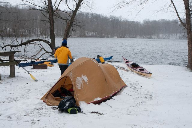 I wish to go kayak camping again.    Photo by Sean Underhill