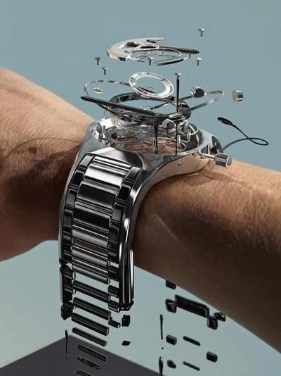 Exploded View Of Wrist Watch » The Amazing Pictures. www.albertalagrup.com