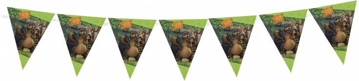 Mooie Jungle book vlaglijn van 3,6 meter lang -