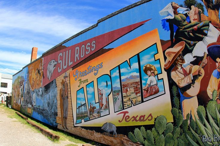 Alpine, Texas | 14 More Tiny Texas Towns That Are Totally Worth The Trip www.texasmountaintrail.com
