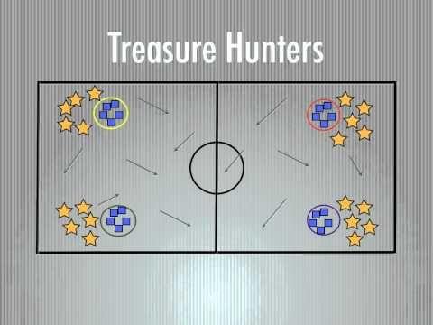 P.E. Games - Treasure Hunters - YouTube