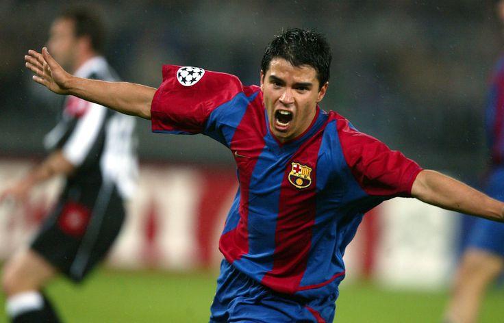 Javier Saviola, el Conejo goleador. Barçargentino que llegó al FC Barcelona en loor de multitudes el 20 de julio de 2001.