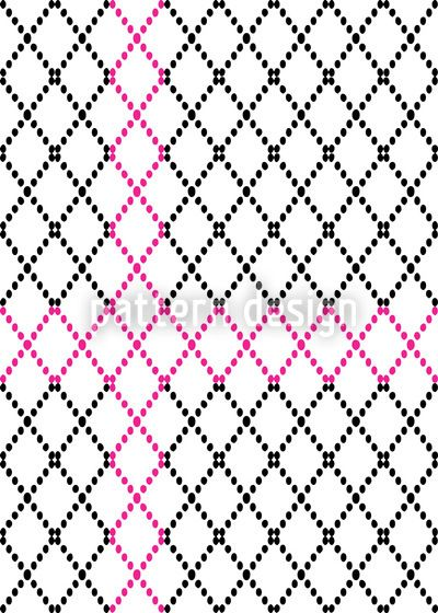 Criss Crosses designed by Fakeha Aasim, vector download available on patterndesigns.com