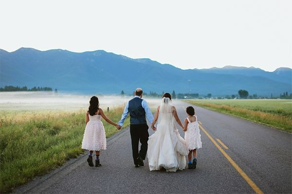 As long as the most important people are there on your big day, everything will turn out just fine.