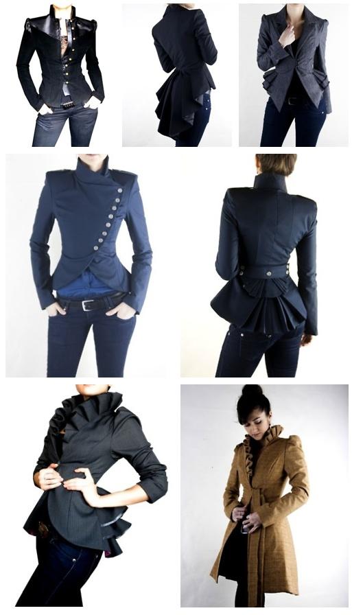 steampunk,clothing,style,jackets, Fantastic coats!