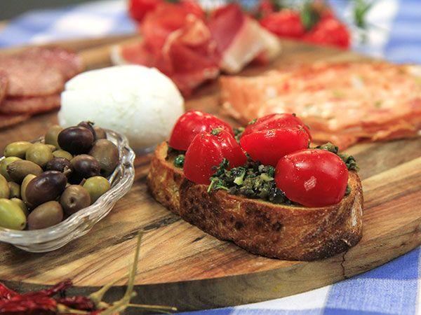 Bruschetta med olivröra | Recept från Köket.se