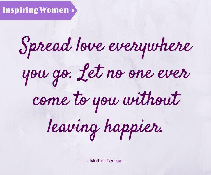 Η Μητέρα Τερέζα αποτελεί έμπνευση για το σπουδαίο φιλανθρωπικό της έργο, που της χάρισε το 1979 το βραβείο Νόμπελ Ειρήνης! #InspiringWomen