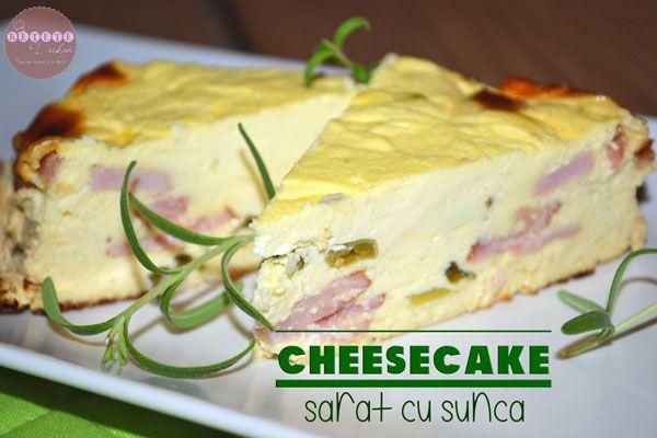 Cheesecake sarat cu sunca - RETETE DUKAN