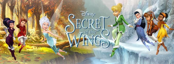 Secret of the Wings on BluRay DVD Combo Pack 10/23 (Fun Activities