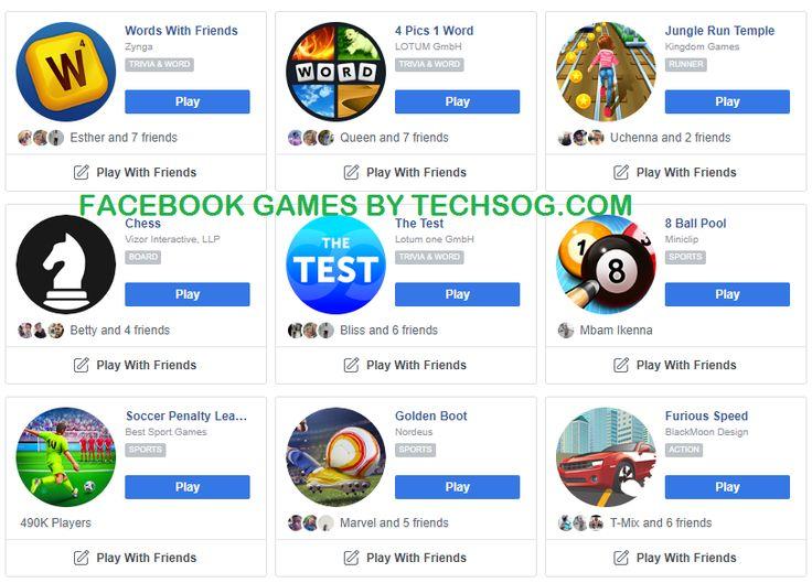 Facebook games facebook games list visit facebook