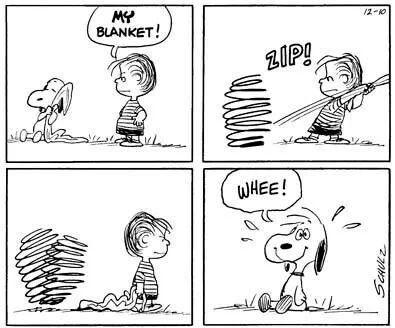 Aw, Snoopy....