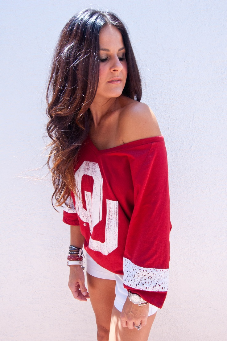 OU Lace Shirt - NEED THIS!!