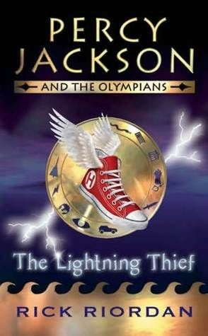 """The lightning thief"", by Rick Riordan - After learning that he is the son of a mortal woman and Poseidon, god of the sea, twelve-year-old Percy is sent to a summer camp for demigods like himself, and joins his new friends on a quest to prevent a war between the gods."