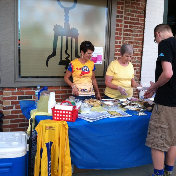 Community Members raised money for the Fisher House Foundation at Sip, Stroll  Shop! Bucyrus, Ohio