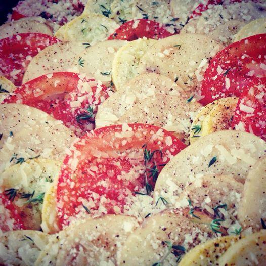 squash tomato tian
