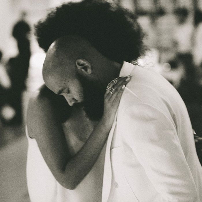 All the Best Instagram Photos of Solange's Gorgeous Wedding via @WhoWhatWear