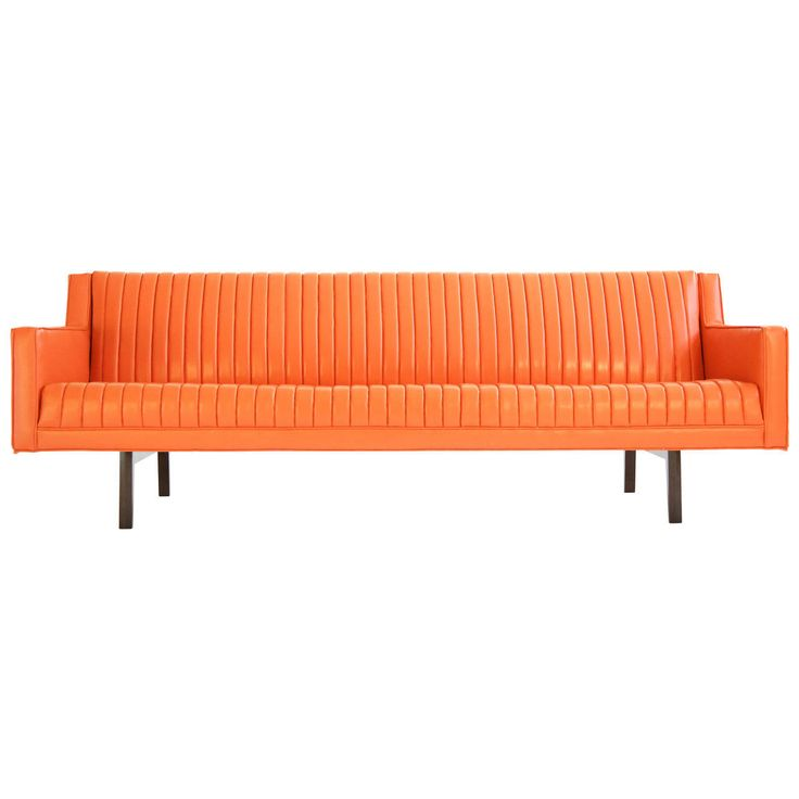 Edward Wormley Channel-Back Sofa